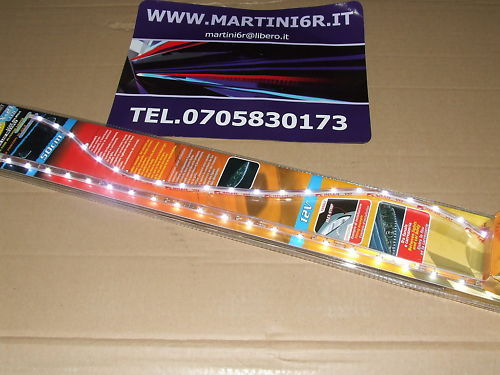 2 STRISCIE A LED MULTIPLI  -  FLEX STRIP 21 LED 50 CM