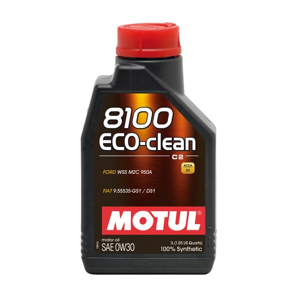 MOTUL 8100 Eco-clean 0W30 risparmio di carburante WSS M2C 950A  9.55535-GS1/DS1