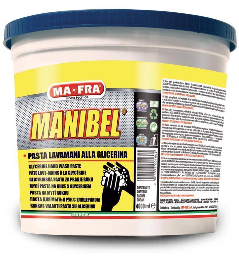 MANIBEL PASTA 4000 ML MAFRA