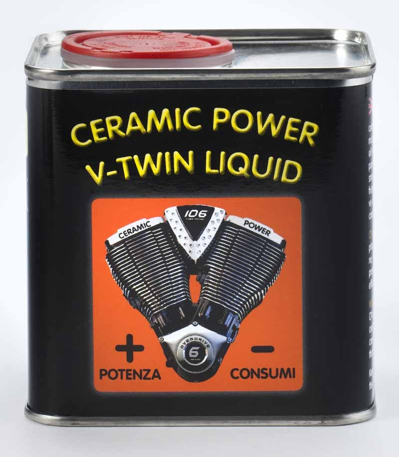 CERAMIC POWER LIQUID V-Twin 375 ML per Motori Fino A 1.800 CC.