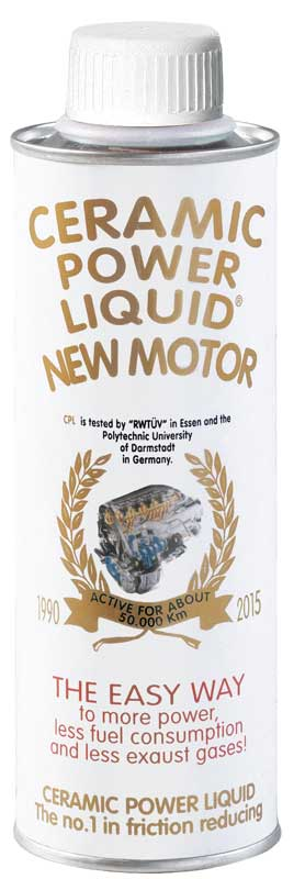 CERAMIC POWER LIQUID New Motor 275 ML per Motori Fino a 2.000 CC.