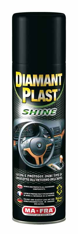 MAFRA DIAMANTPLAST SHINE SPRAY 500 ML Lucida cruscotti con silicone