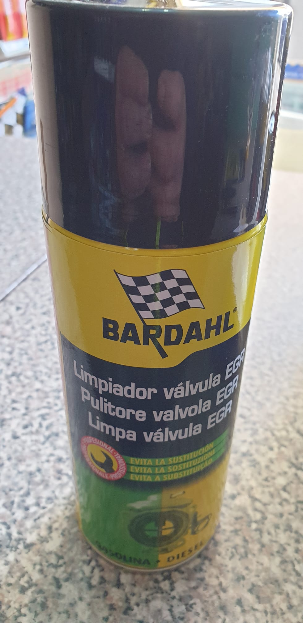 Additivo Pulitore valv. EGR spray 400ml BARDAHL