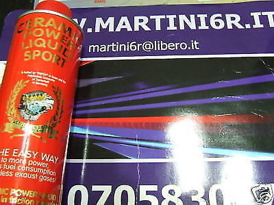 039 CERAMIC POWER LIQUID SPORT PER AUTO BENZINA E DIESEL FINO A 3000cc 450ml