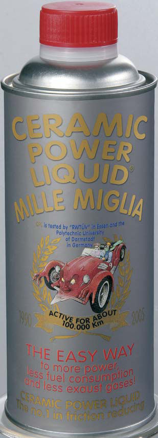 31- 26 CERAMIC POWER LIQUID MILLE MIGLIA  FINO A 800cc 150ml