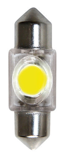 12V Hyper-Led 2 - 1 SMD x 2 chips - 10x31 mm - SV8,5-8 - 1 pz - D/Blister - Bian