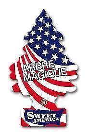 PROFUMATORE AUTO ARBRE MAGIQUE FRAGRANZA WORLD FRAGRANCES SWEET AMERICA