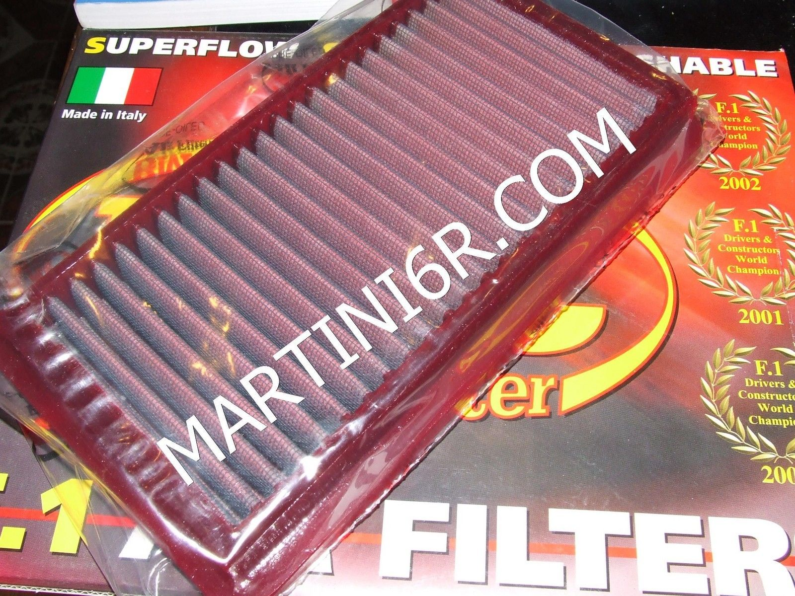 FILTRO ARIA SPORTIVO BMC AIR FILTERS BENTLEY CONTINENTAL 6.75 V8 R (HP: 360