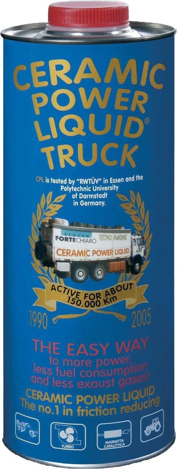 CERAMIC POWER LIQUID TRUCK PER MOTORI FINO A 7500cc 1350ML