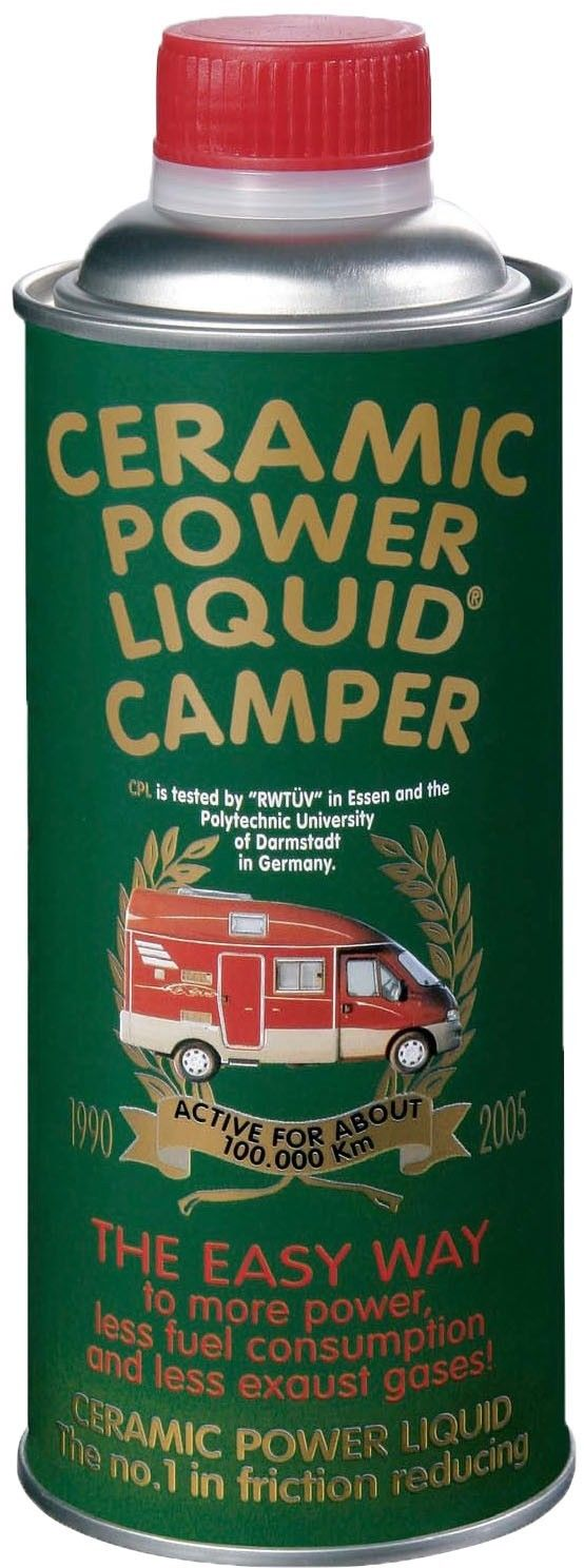 CERAMIC POWER LIQUID CAMPER PER MOTORI BENZINA E DIESEL FINO A 2500cc 450ml