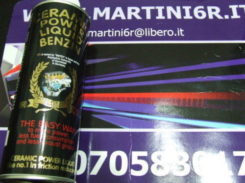 CERAMIC POWER LIQUID BENZIN PER AUTO A BENZINA FINO A 2500cc 450ml