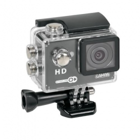 Action-Cam 1, telecamera per sport 720p + Kit accessori Monitor da 2.0""