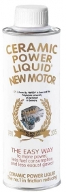 CERAMIC POWER LIQUID NEW MOTOR AUTO A BENZINA O GASOLIO FINO A 2500cc 350ml