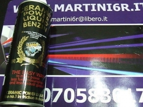 127 CERAMIC POWER LIQUID BENZIN PER AUTO A BENZINA FINO A 1000cc 200ml