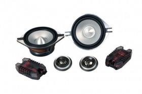 AL-100SE -    100 mm - 140W - Kit Altoparlanti - 6 pz Kit altoparlanti. 2 tweete