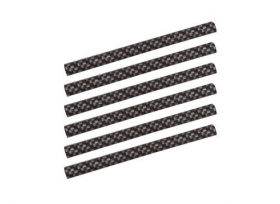 Adhesive Trims 6 pz - 130 mm -