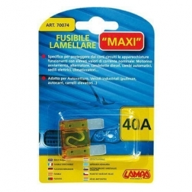 70074  Fusibile lamellare Maxi - 40A 29,2mm