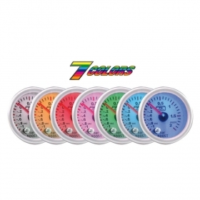 Manometro turbo Tuning Guru 7-