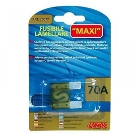 70077  Fusibile lamellare Maxi - 70A 29,2mm