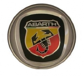 Fregio posteriore Abarth 95mm